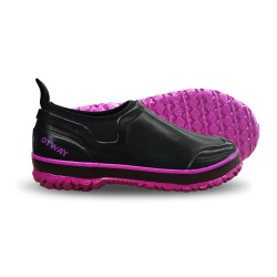 Stroller Shoe Black Purple_800px